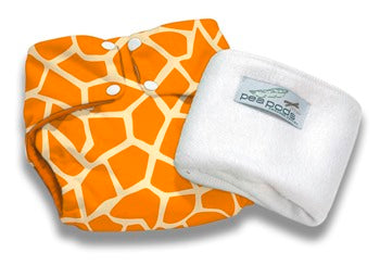 Pea Pods Reusable Modern Cloth Nappies- One Size