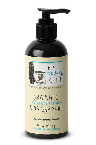 My Gypsy Child Squeaky Clean Organic Kids Shampoo