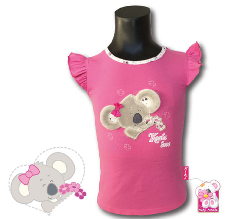 Kiki Koala 3D Head T-Shirt