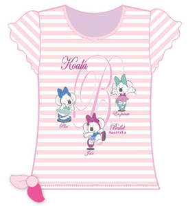Kiki Koala Ballet Cotton T-Shirt