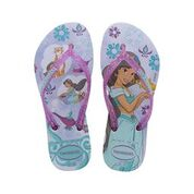 Havaianas Kids Slim Princess (Jasmine) Lavander Thongs