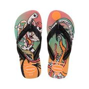 Havaianas Kids Radical Vibrant Orange Thongs