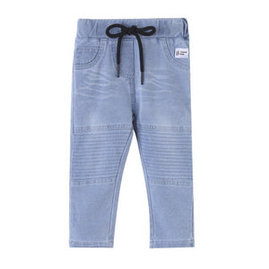 Cracked Soda : Kai Detailed Jeans - Blue