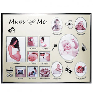 Photo Frame Mum & Me Collage Pregnancy & Birth