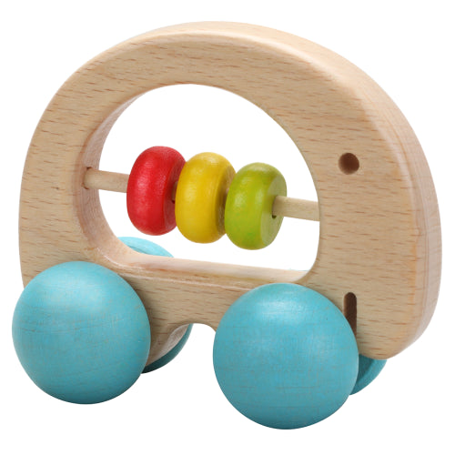 Wooden Push Toy: Elephant
