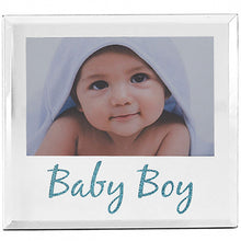 Baby Photo Frame Glass Mirror Finish