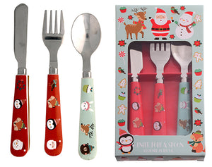 Christmas Cutlery Set 3pcs