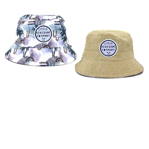 Little Renegade Company : Haven Reversible Bucket Hat