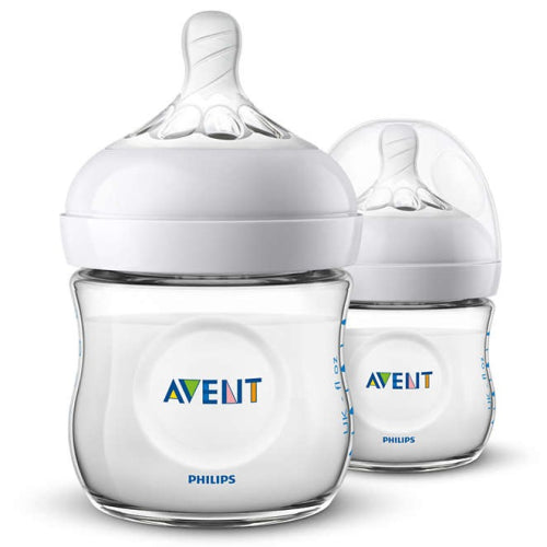 Avent Natural - 125mL Wide Neck Bottles 2 Pack