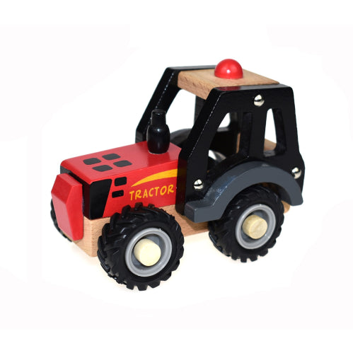 Koala Dream : Wooden Red Tractor