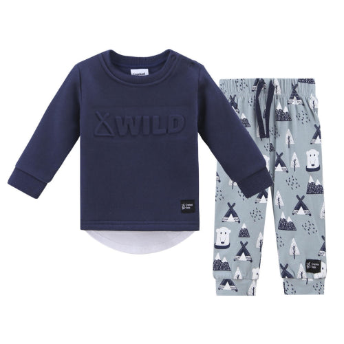 Cracked Soda : Sutton Wild Crew Set - Blue