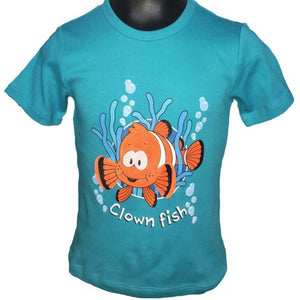 3D Clown Fish T-Shirt