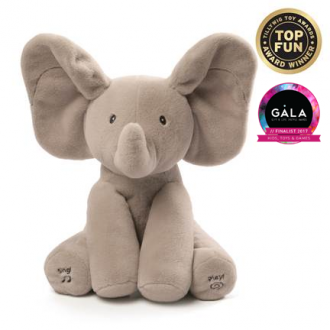 GUND FLAPPY ELEPHANT ANIMATED PLUSH