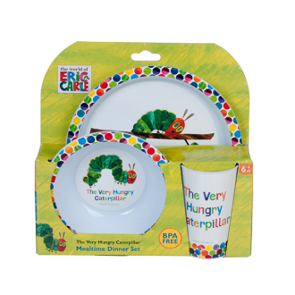 The Very Hungry Caterpillar 3 Pc Dinner Set