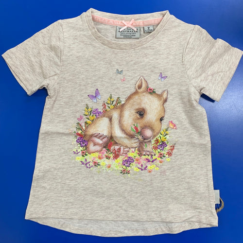Wombat Sketch Cotton Shirt