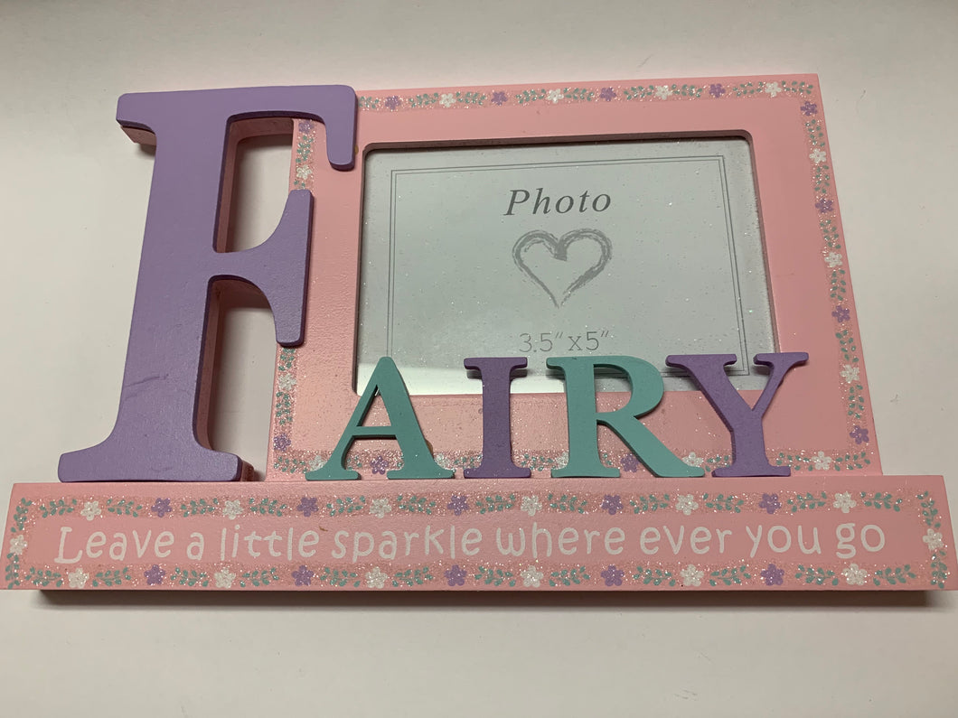 Glitter Fairy Photo Frame