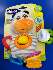 Chicco Mr Zebra Stroller Toy