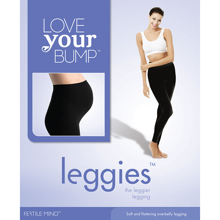 Love Your Bump Overbelly Maternity Leggies