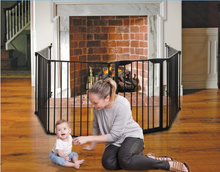 Mayfair 3in1 Converta Play Pen - Black 6 Panel