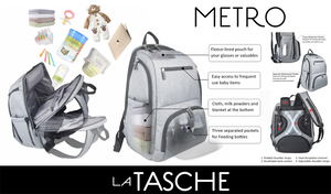 LA TASHE Metro Nappy Backpack