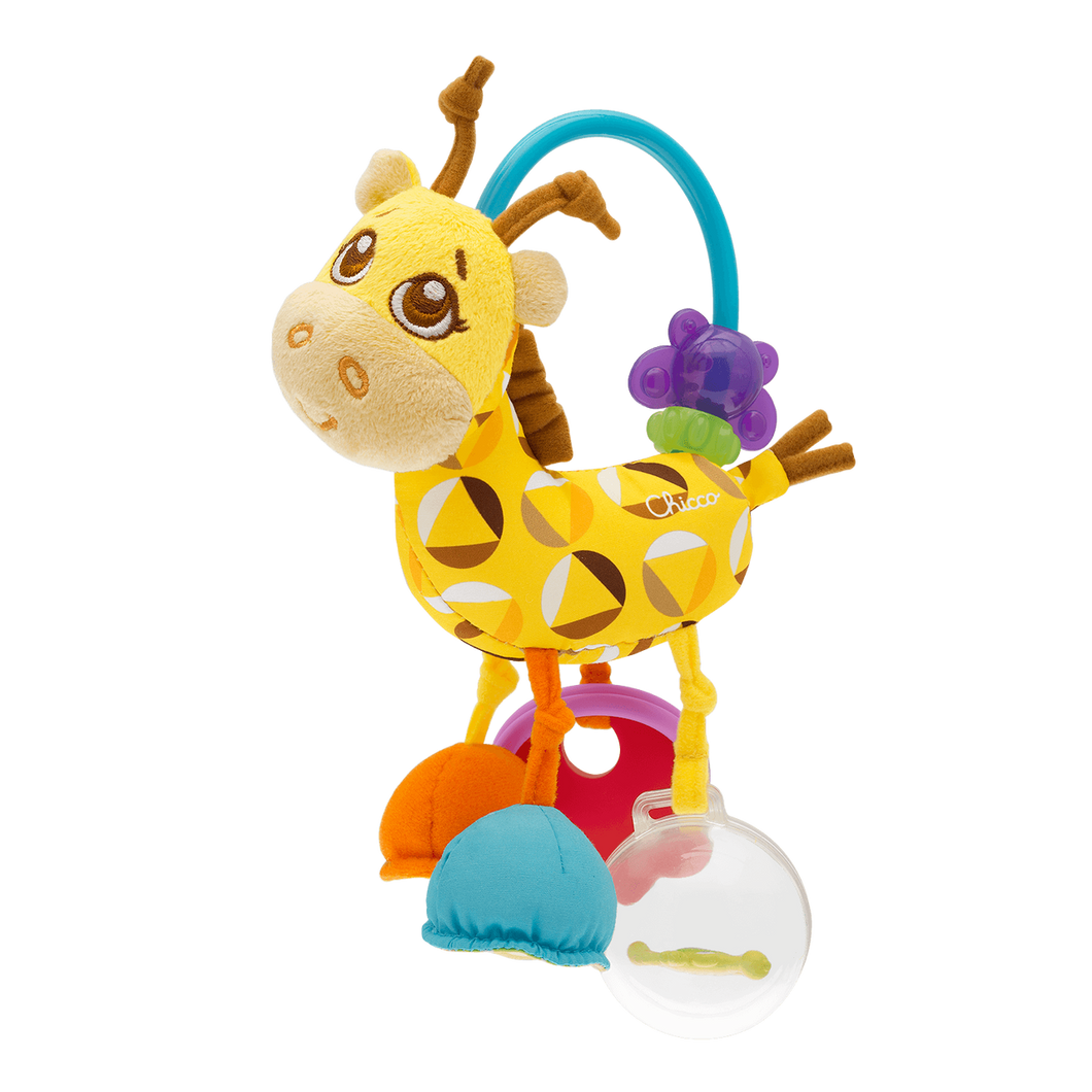 Chicco MRS. GIRAFFE TACTILE RATTLE