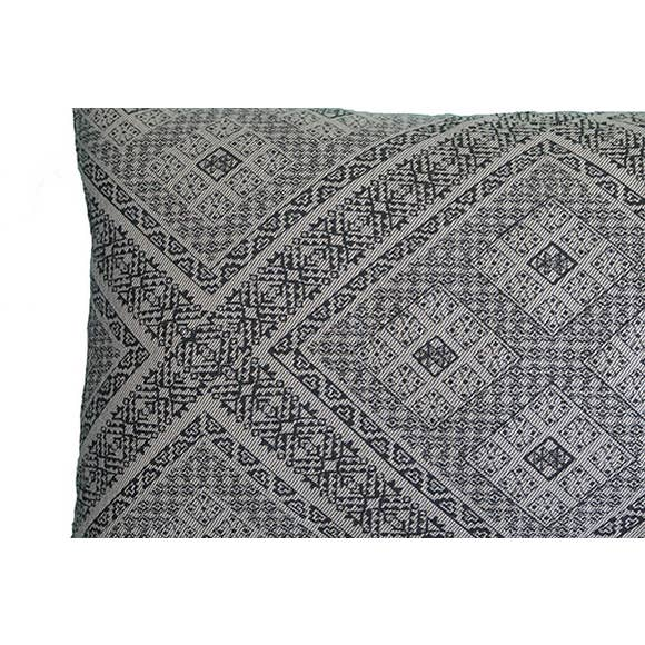 Jacquard Lumbar Pillow - Effortless Composition