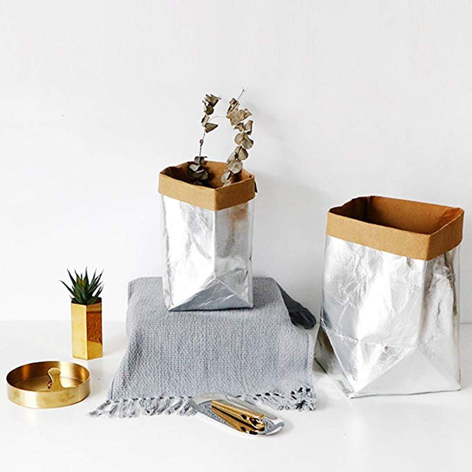 Metallic Storage Bag - Effortless Composition