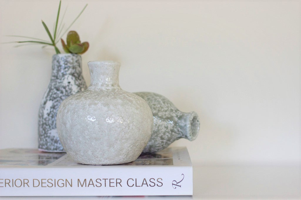 London Terra Cotta Vase Set - Effortless Composition