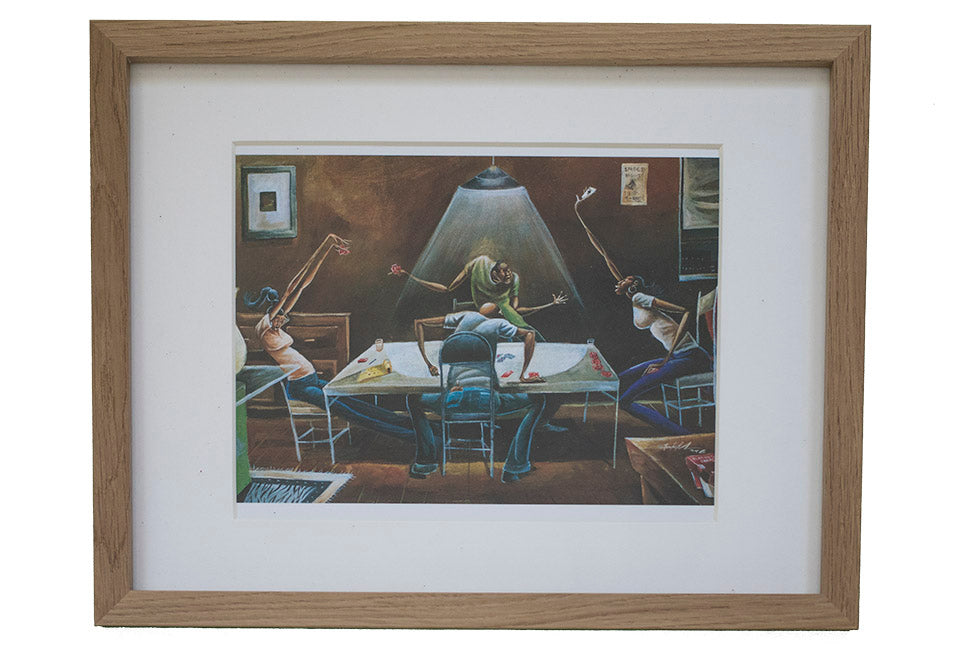 The Table Framed Art - Effortless Composition