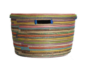 Multi Color Hamper Basket Set - Effortless Composition