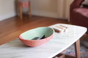 Teal and Color Bowl