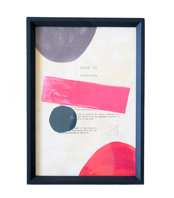 Color Theory Framed Art 02 - Effortless Composition