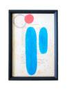 Color Theory Framed Art 09 - Effortless Composition