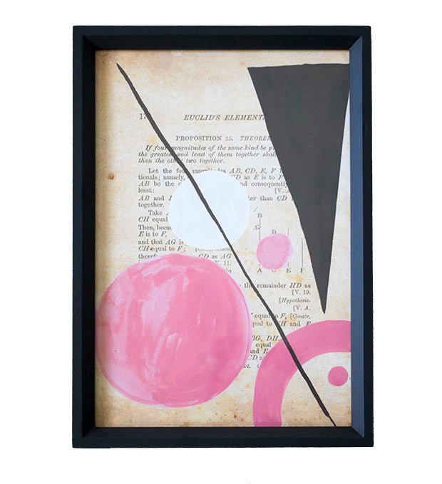 Color Theory Framed Art 07 - Effortless Composition