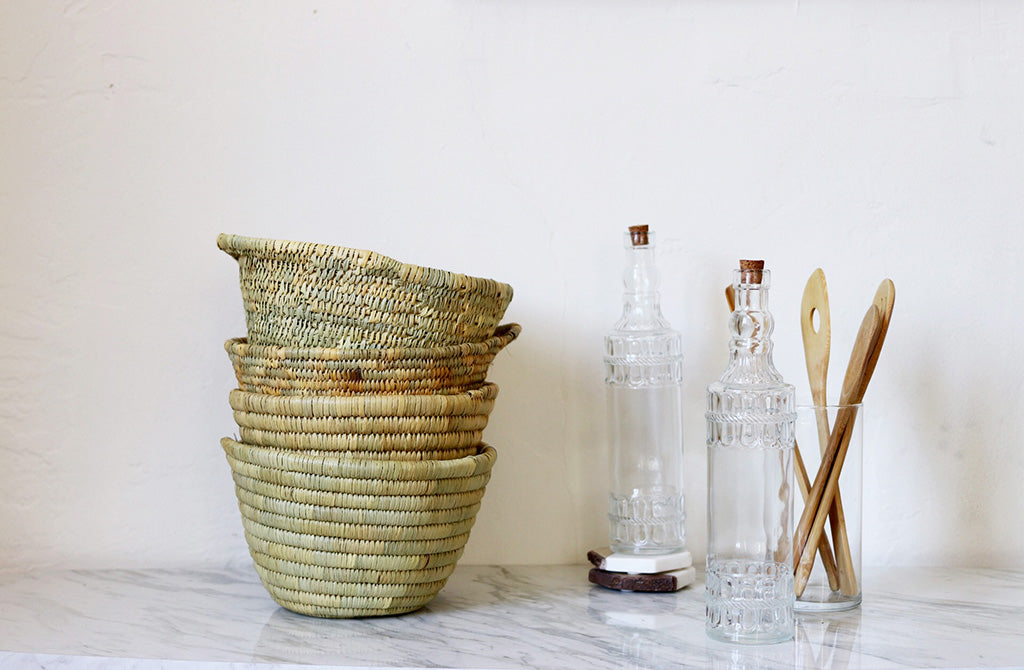 Lynn Woven Basket - Effortless Composition