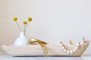 Persia Wooden Tray - Effortless Composition