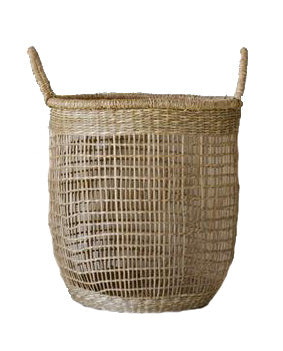Georgia Seagrass Basket - Effortless Composition
