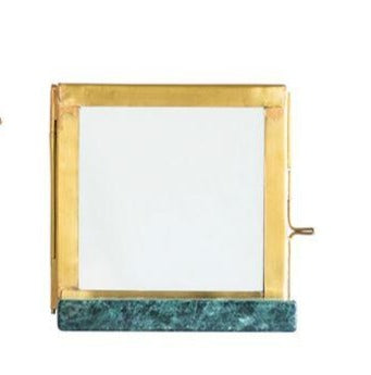 Gold and Jade Green Picture Frame - Effortless Composition