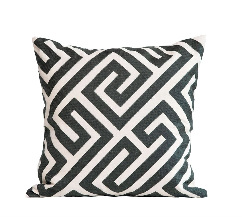 Lines Throw Pillow - Effortless Composition