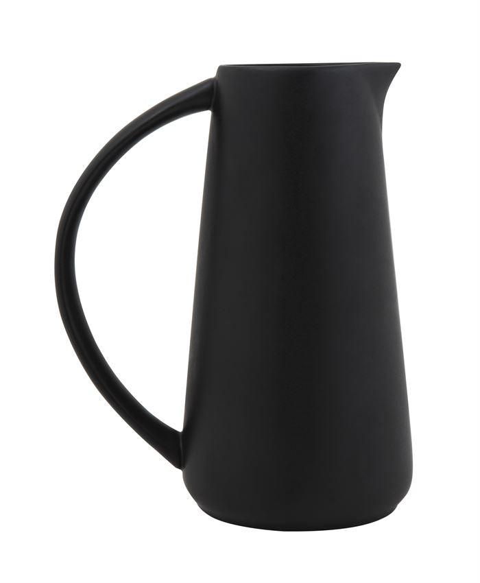 Matte Black Pitcher - Effortless Composition