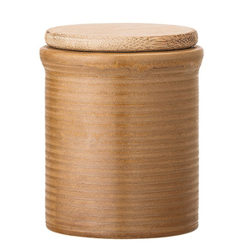 Peanut Stoneware Canister - Effortless Composition
