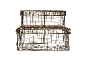 Jackie Wire Organizers (Set of 2 ) - Effortless Composition