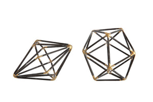 Julia Geo Decoration (Set of 2) - Effortless Composition