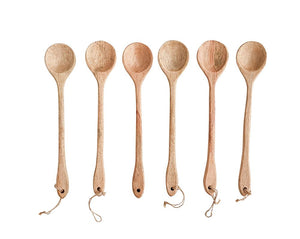 Hand Carved Wooden Spoons - Effortless Composition