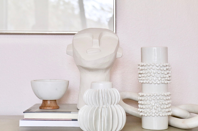 White Sea Vase - Effortless Composition