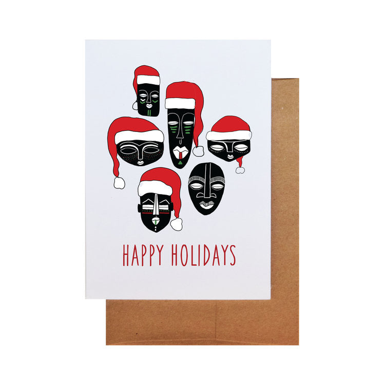 Holiday Masks By Ms James - Effortless Composition