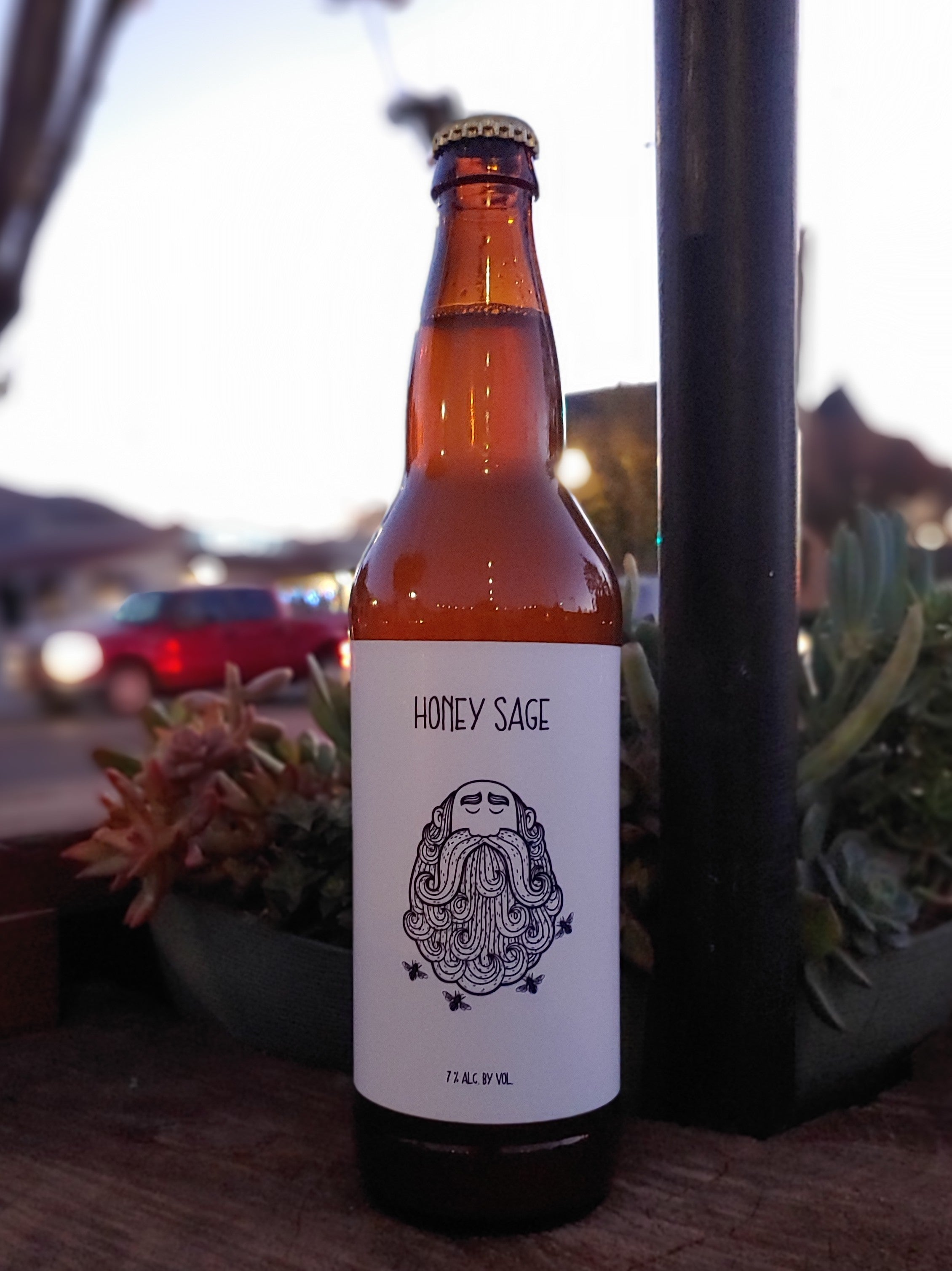 Honey Sage Cider - 22oz Bottle