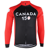Long Sleeve Black Canada 150 Jersey