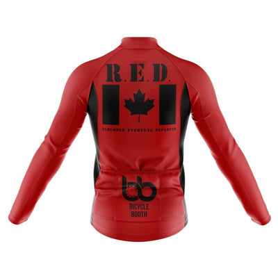Remember Everyone Deployed Canada (V1) Long Sleeve Jersey