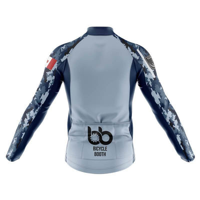 Navy Camo Pattern Thermal Jersey